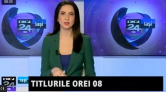 """""""Regiunea"""" DIGI 24 Iaşi cuprinde și județul Bacău"""