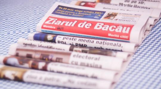 Ziarul de Bacău renunță la print și lansează abonamente pentru ediția electronică