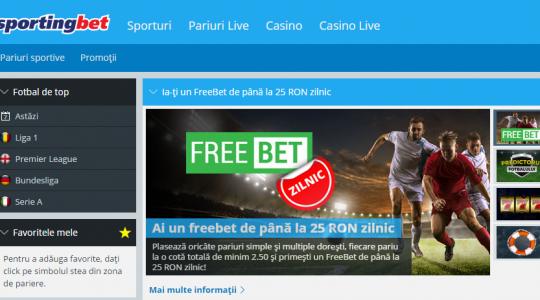 Descoperă noul site Sportingbet, vei fi surprins de evoluție!